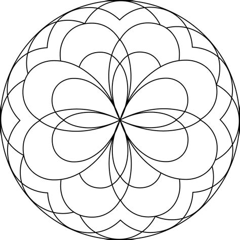 Printable Mandala Coloring Pages by Printable Mandala Coloring Pages For