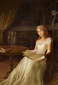 fantasy art princess by peachysticks at epilogue