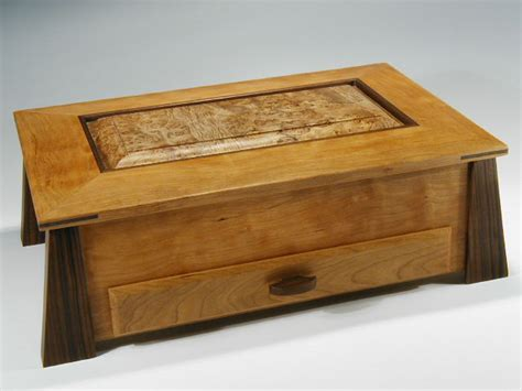 Handcrafted Box - gorgeous jewelry organizers handmade with woods