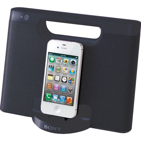 Iphone Ipod sony rdp m7ip speaker dock for ipod and iphone black