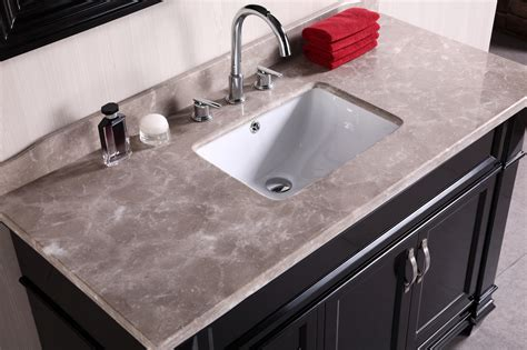 single vanity top adorna 48 quot single bathroom vanity elegantly constructed of