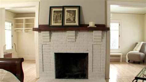 how to refinish a brick fireplace refinishing a brick fireplace diy