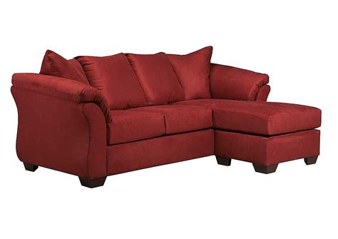 ashley darcy sofa chaise austin s couch potatoes furniture stores austin texas
