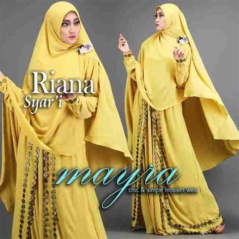 Myara Hitam rianna syari by mayra jual busana muslim