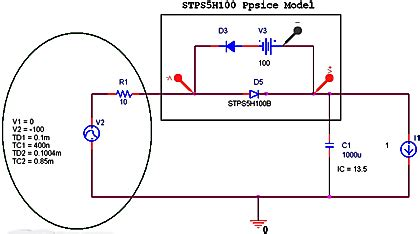 schottky diode in pspice select schottky diodes based on avalanche performance edn