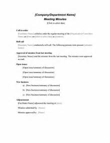 formal meeting minutes template formal meeting minutes office templates