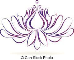 fiore di loto disegno stilizzato fiore dentellare loto stilizzato disegno logotipo