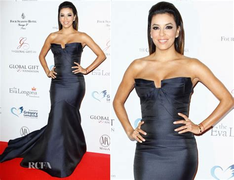 Runway To Carpet Longoria In Lhuillier At El Cantante Premiere La by Longoria In Lhuillier Global Gift Gala 2014
