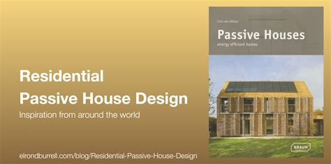 energy efficient home design books inspiration for residential passive house design