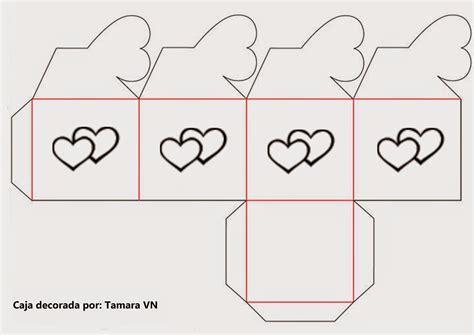 moldes de cajitas para san valentin pareja en san valent mis colecciones molde de caja 1