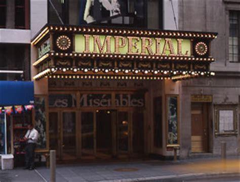 imperial theatre shubert organization