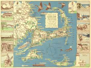 file 1940 colonial craftsman decorative map of cape cod