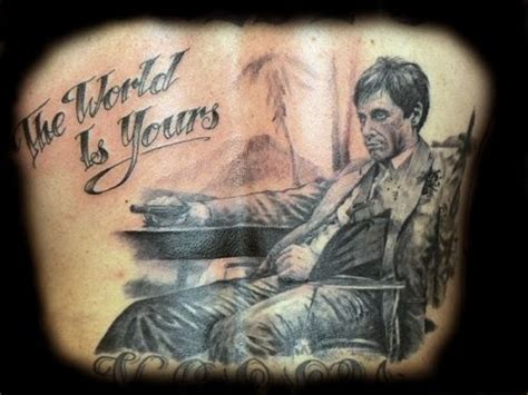 the world is yours tattoo scarface ideas