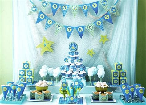 ocean decorations for home an ocean themed 1st birthday guest feature