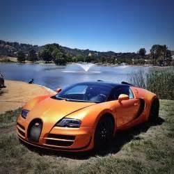 Orange Bugatti Veyron Orange Bugatti Veyron Grand Sport Vitesse At Monterey Car