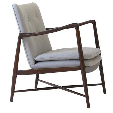 finn juhl bo 59 beechwood lounge chair for bovirke signed