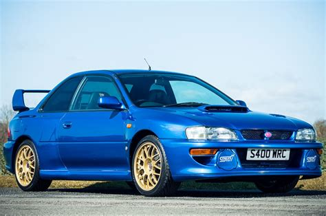 old subaru impreza 1998 subaru impreza sti 22b expected to sell for 100 000