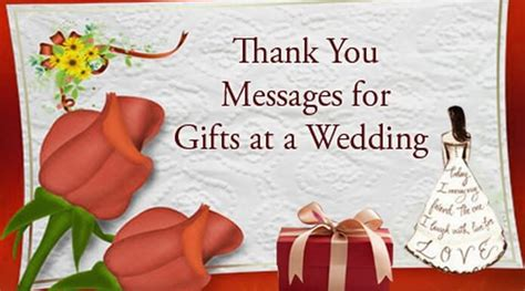 thank you messages for wedding presents thank you messages for gifts at a wedding