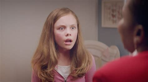 flo new hairstyle commercial ad of the day aunt flo comes to town and is comically