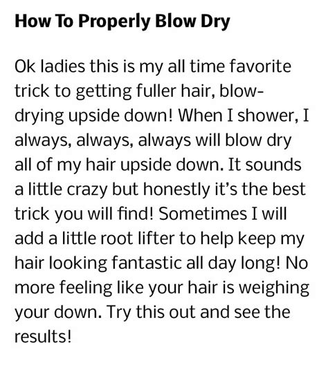 4 Tips To Make Your - 4 tips to make your hair look fuller musely