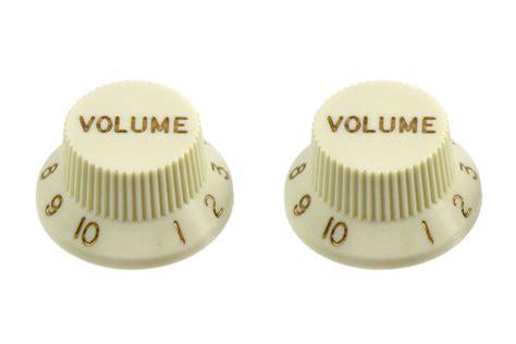 mint green volume knobs allparts