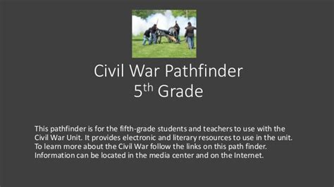 powerpoint design war civil war powerpoint pathfinder