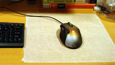 Handmade Mouse Pad - the best gaming mouse pad you ll make paulstamatiou