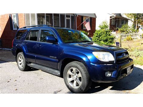 2006 Toyota For Sale 2006 Toyota 4runner For Sale By Owner In Parkville Md 21234