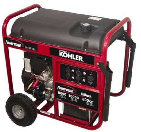 buy powermate pm0418000 10 000 watt 426cc 15 hp kohler ps