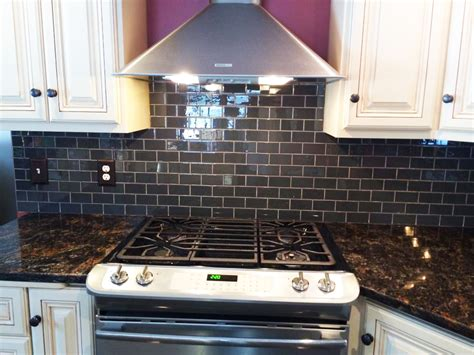 subway tiles kitchen backsplash ideas hometalk glass subway tile kitchen backsplash idea