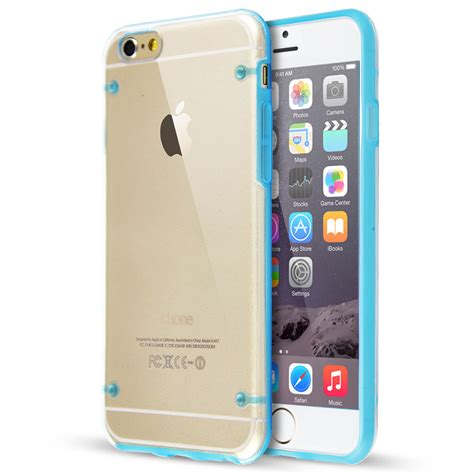 Tpu Canvas Rubber Blue Soft Cover Casing Iphone 6 6s Plus Tpu Rubber Gel Ultra Thin Soft Cover For Iphone 6
