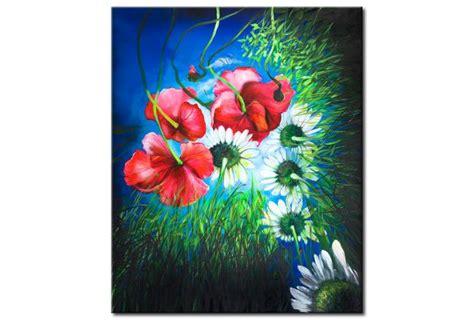 fiori quadro quadro fiori di co papaveri fiori quadri