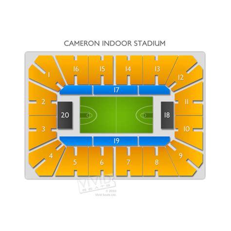 02 Arena Floor Plan Cameron Indoor Stadium Tickets Cameron Indoor Stadium