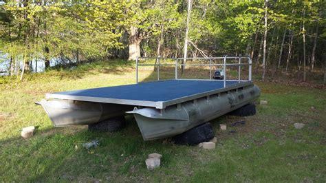 pontoon boat aluminum edging update pontoon rebuild project coming together 171 forths