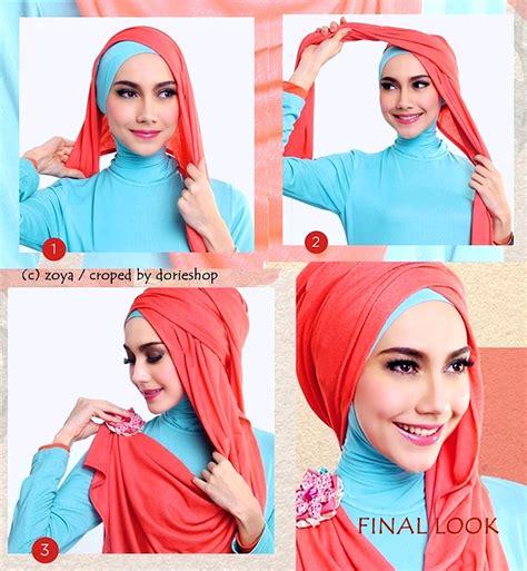 tutorial hijab pashmina pesta elegan hijab pashmina pesta modern dan elegan lihat co id