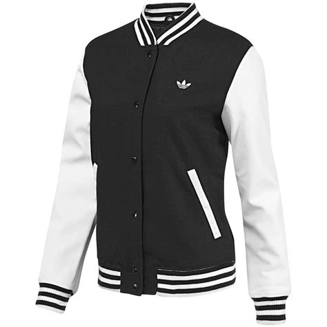 Adidas Originals College Letterman Jacket Adidas Originals Style Varsity Jacket Damen College Jacke 220 Bergangsjacke