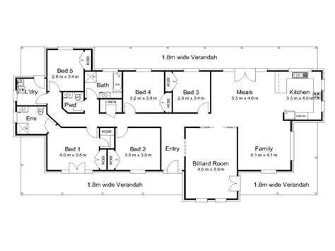 house plan australia modern 5 bedroom house plans 5 bedroom house plans