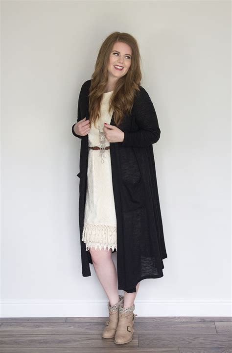 45397 Dress Dresscardi 1 dress 5 ways cardi and booties moda la