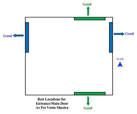 West Facing House Vastu Floor Plans by Auspicious Vastu Tips For Entrance Main Door Do S Amp Don Ts