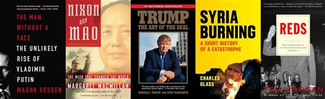 trumps all books 7 books to understand the incoming administration