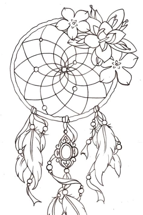 dreamcatcher tattoo with lily dream catcher lily tattoo tats pinterest