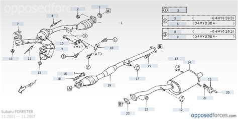 subaru forester exhaust system diagram question about chamber on center pipe subaru forester
