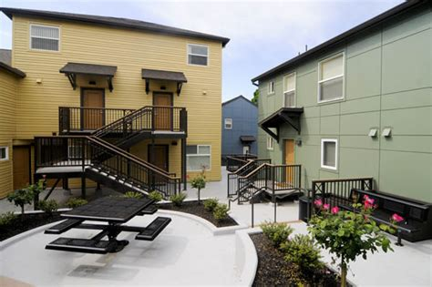 affordable housing portland affordable housing development opens in northeast portland after renovation daily