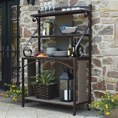 Bakers Rack Outdoor Member S Fairbanks Baker S Rack Sam S Club