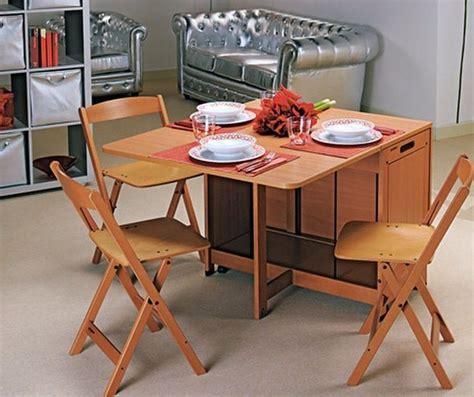 sedie a scomparsa tavolo a scomparsa mimetizzarsi con stile tavoli