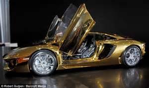 Solid Gold Lamborghini Model Prototype Lamborghini Goes On Sale For 163 250 000