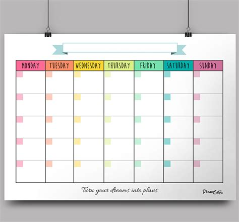 month planner template calendar monthly planner printable