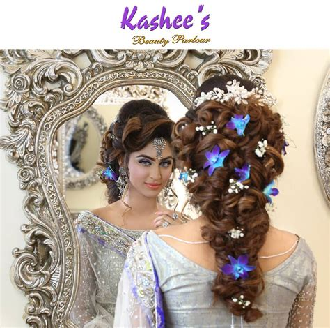 kashees hair style kashees beautiful bridal hairstyle makeup beauty parlour