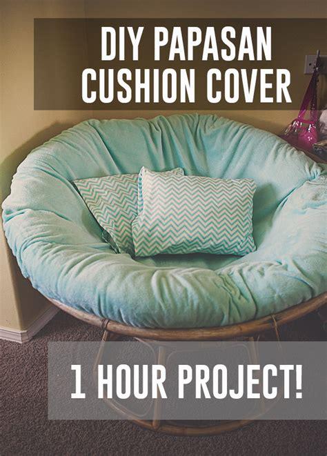diy papasan chair cushion cover budget friendly