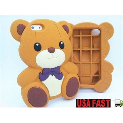 Softcase Teddy Brown 3d Line Soft Cover Casing Samsung Galaxy J7 2016 3d brown teddy soft silicone cover for iphone 5 cell phones